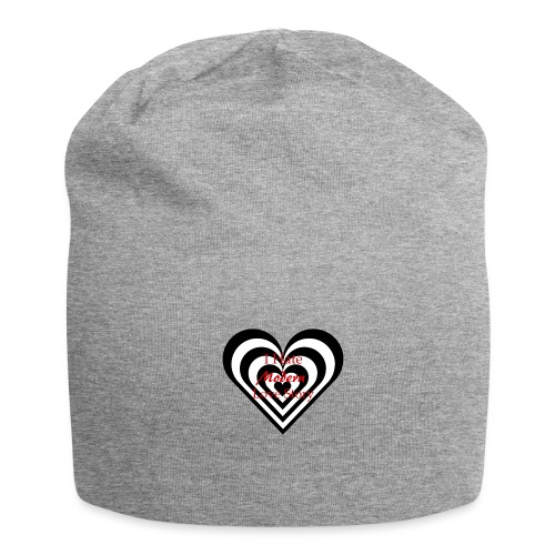 i hate modern love story - Beanie in jersey