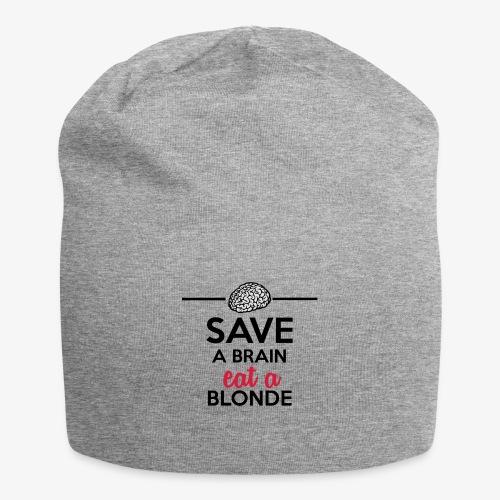 Gebildet - Save a Brain eat a Blond - Jersey-Beanie