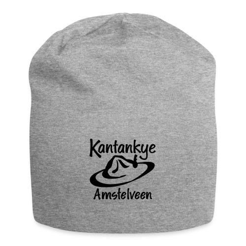 logo naam hoed amstelveen - Jersey-Beanie