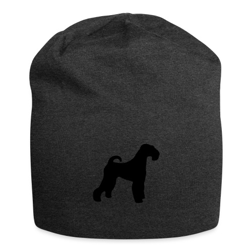 BLACK Airedale Terrier - Jersey Beanie