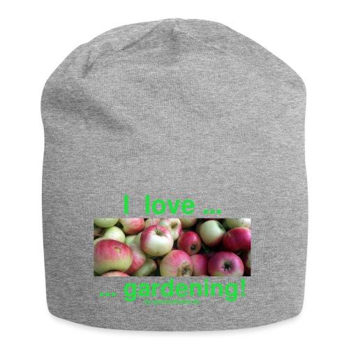 Äpfel - I love gardening! - Jersey-Beanie