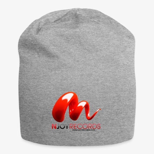 Logo Njoy Records Noir - Bonnet en jersey