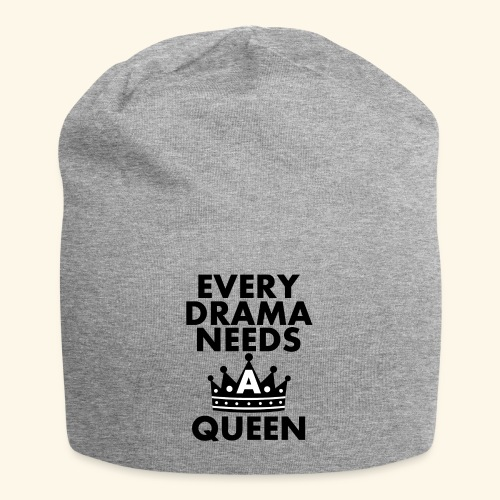 EVERY DRAMA black png - Jersey Beanie
