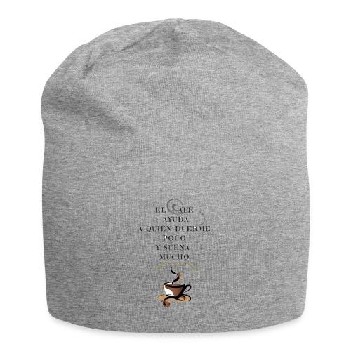 CAFÉ DEL DÍA - Gorro holgado de tela de jersey