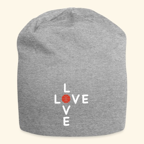 LOVE Cross basketball red 001 - Jersey-Beanie