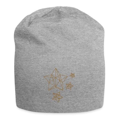 Sternenhimmel Diamant - Jersey-Beanie