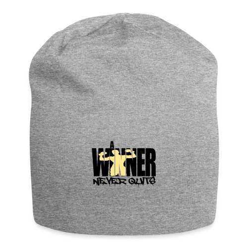 a winner never Quits - Jersey-Beanie
