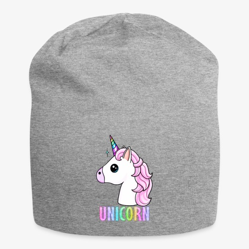 Unicorn - Beanie in jersey