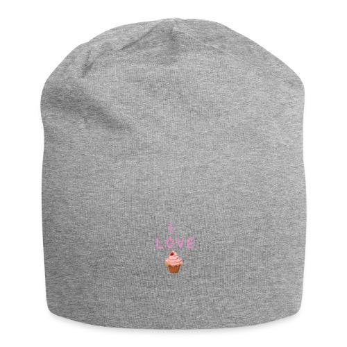 I LOVE CUPCAKES - Gorro holgado de tela de jersey