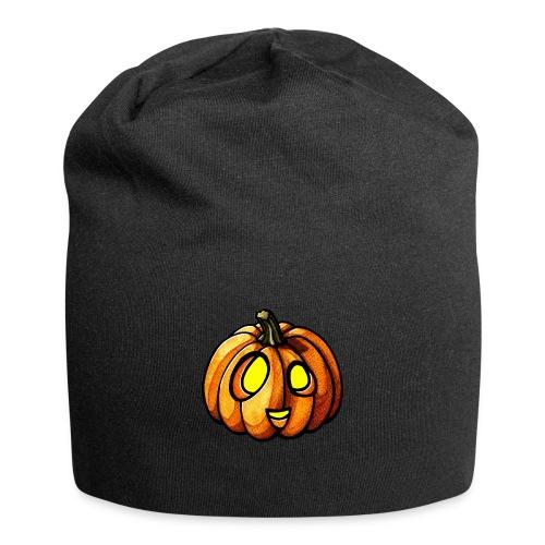 Pumpkin Halloween watercolor scribblesirii - Jersey Beanie