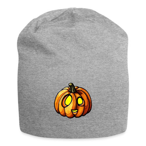 Pumpkin Halloween watercolor scribblesirii - Jersey-Beanie