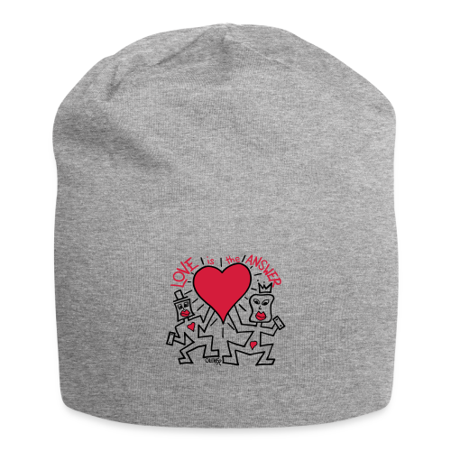 Love is the Answer by Oliver Schibli - Jersey Beanie