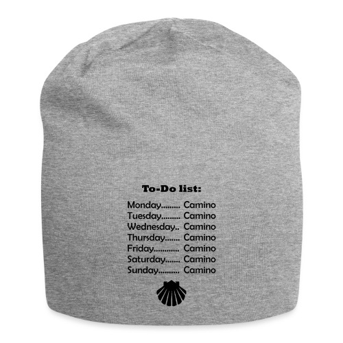 To-do list: Camino - Jersey-Beanie
