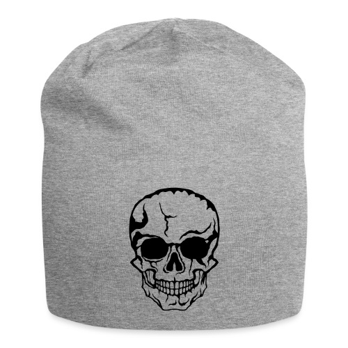 tete de mort halloween horreur dessin 21 - Bonnet en jersey