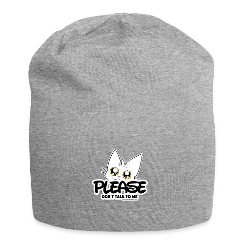 Please Don't Talk To Me - Jersey Beanie
