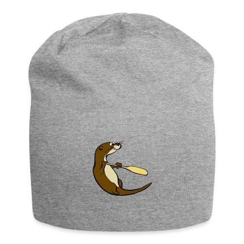 Classic Song of the Paddle otter logo - Jersey Beanie