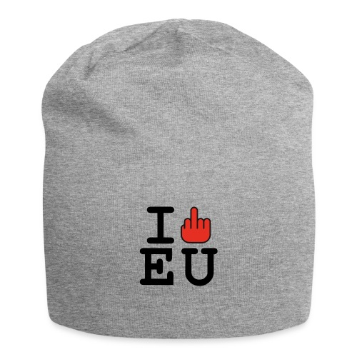 i fck EU European Union Brexit - Jersey Beanie