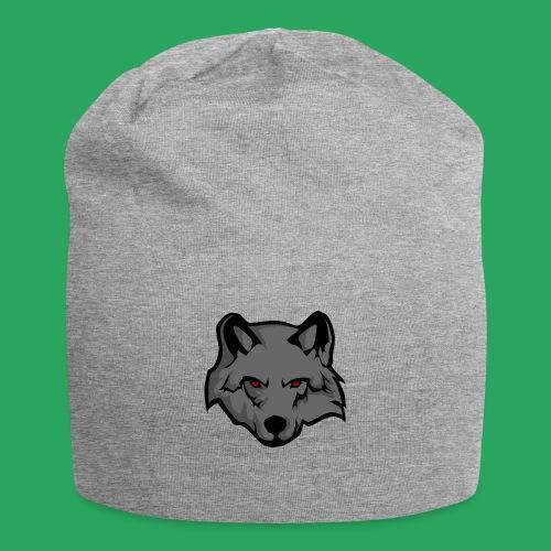 wolf logo - Beanie in jersey