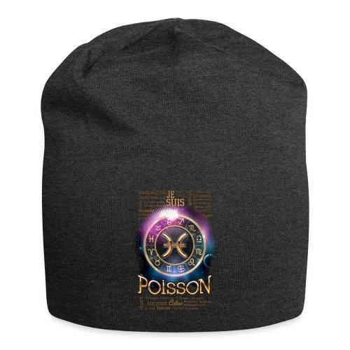 POISSONS - Bonnet en jersey