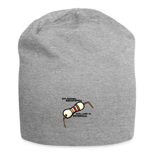- ResistPotencial - - Gorro holgado de tela de jersey
