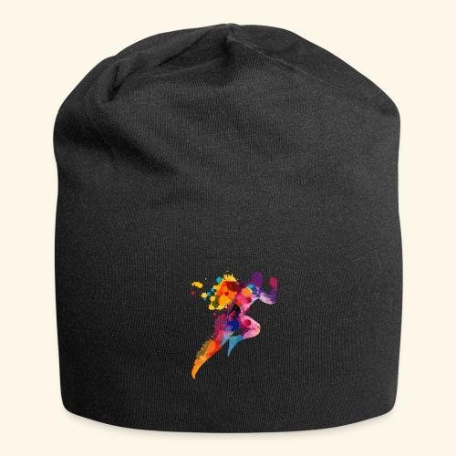 Running colores - Gorro holgado de tela de jersey