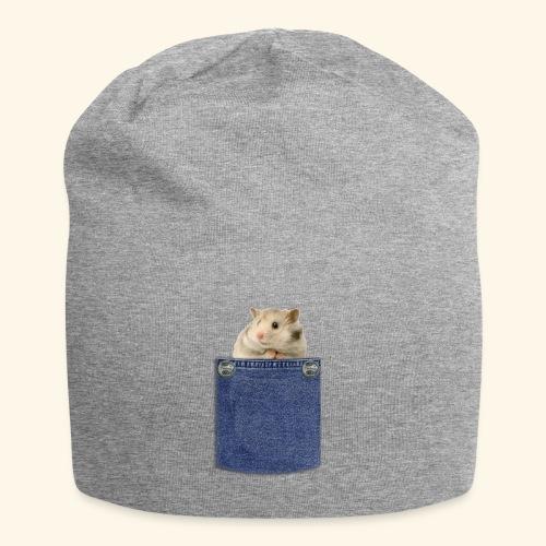 hamster in the poket - Beanie in jersey