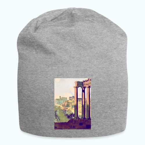 Rome Vintage Travel Poster - Jersey Beanie