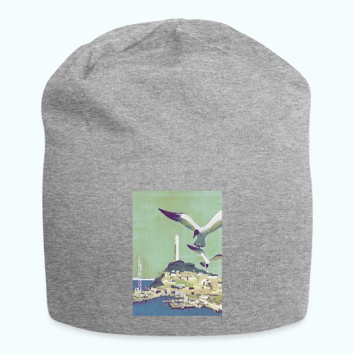 San Francisco Vintage Travel Poster - Jersey Beanie