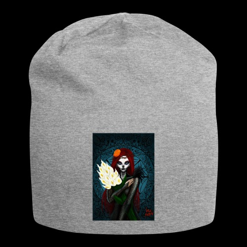 Death and lillies - Jersey Beanie