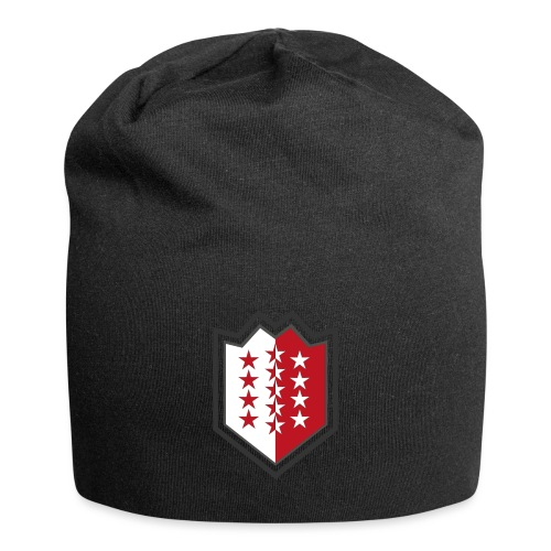 T-Shirt avec drapeau valaisan - Valais - Wallis - Bonnet en jersey