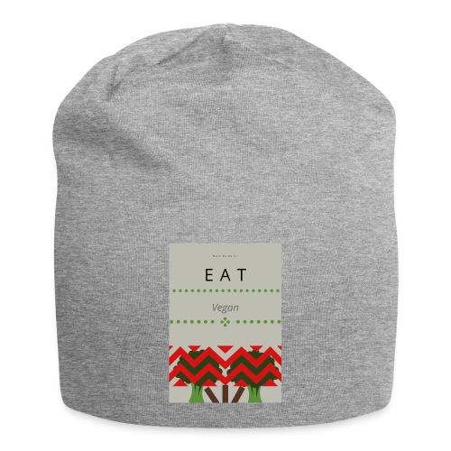 Eat Vegan - Czapka krasnal z dżerseju