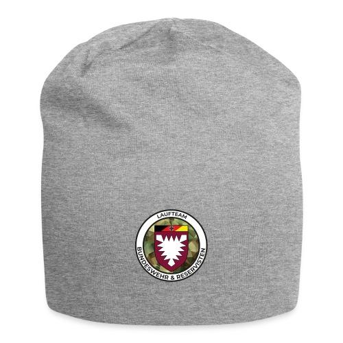 Logo des Laufteams - Jersey-Beanie