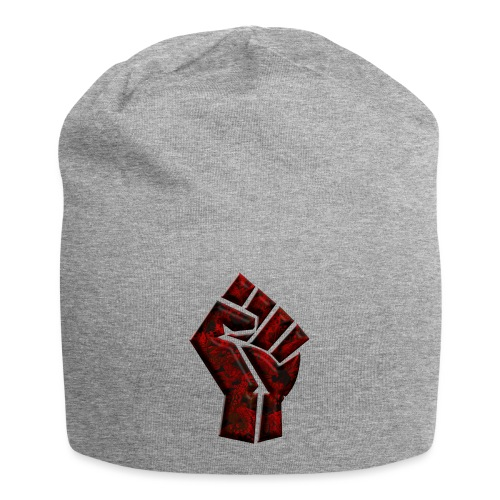 Power to the people - butterfly Red - Jersey Beanie