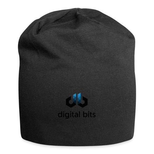 digitalbits Logo mit Schriftzug - Jersey-Beanie