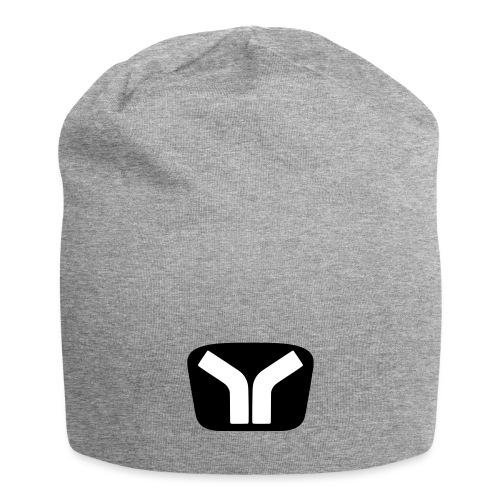 Yugo Logo Black-White Design - Jersey Beanie