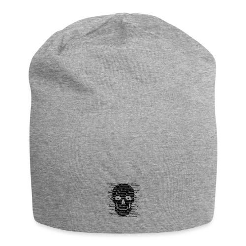 Silverline Skull Schwarz - Jersey-Beanie
