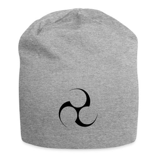 Mitsudomoe Symbol (invertiert) - Jersey-Beanie
