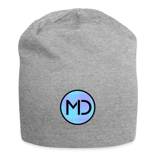 MD Blue Fibre Trans - Jersey Beanie