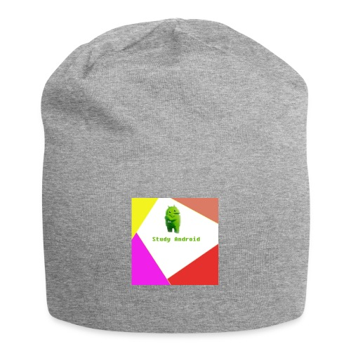 Study Android - Gorro holgado de tela de jersey
