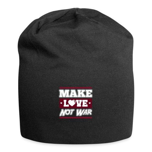 Make_love_not_war by Lattapon - Jersey-Beanie