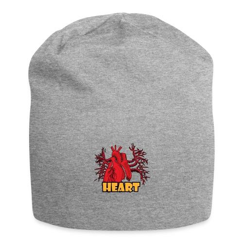 HEART - Beanie in jersey