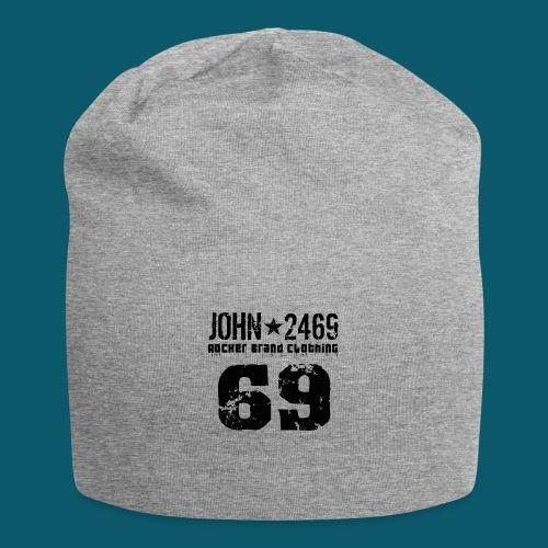 john 2469 numero trasp per spread nero PNG - Beanie in jersey
