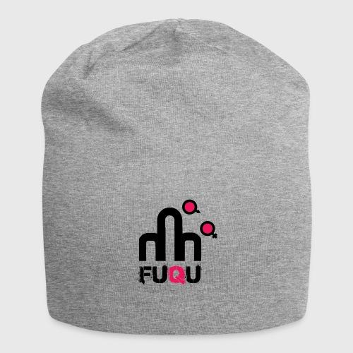 T-shirt FUQU logo colore nero - Beanie in jersey