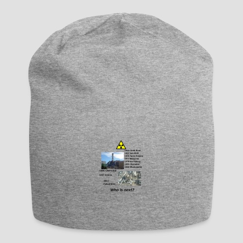 no nuclear button Who is next? - Jersey Beanie