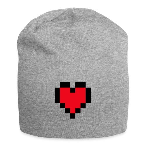 Pixel Heart - Jersey-Beanie