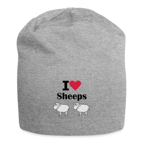 I-love-sheeps - Bonnet en jersey