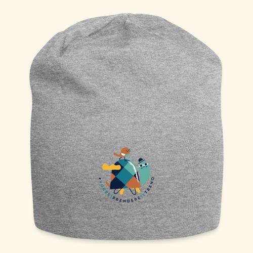 Tartaruga e uccellino - Beanie in jersey