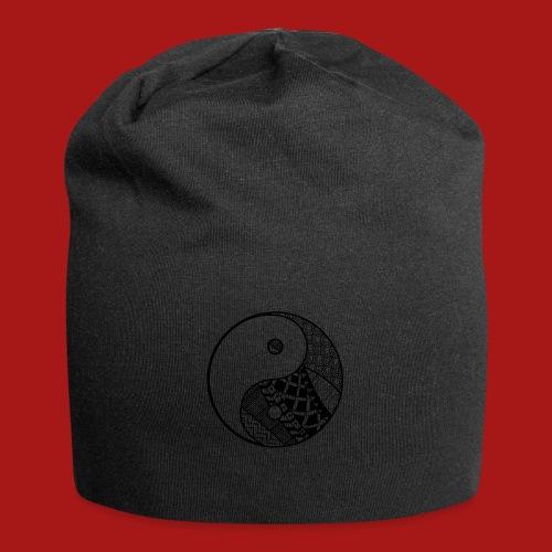 Decorative-Yin-Yang - Jersey-Beanie