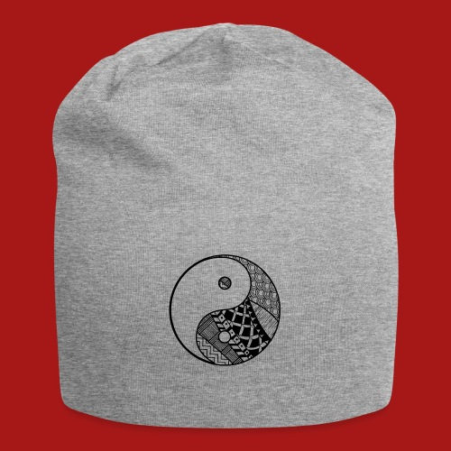 Decorative-Yin-Yang - Jersey-Beanie