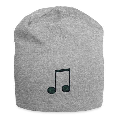 Low Poly Geometric Music Note - Jersey Beanie